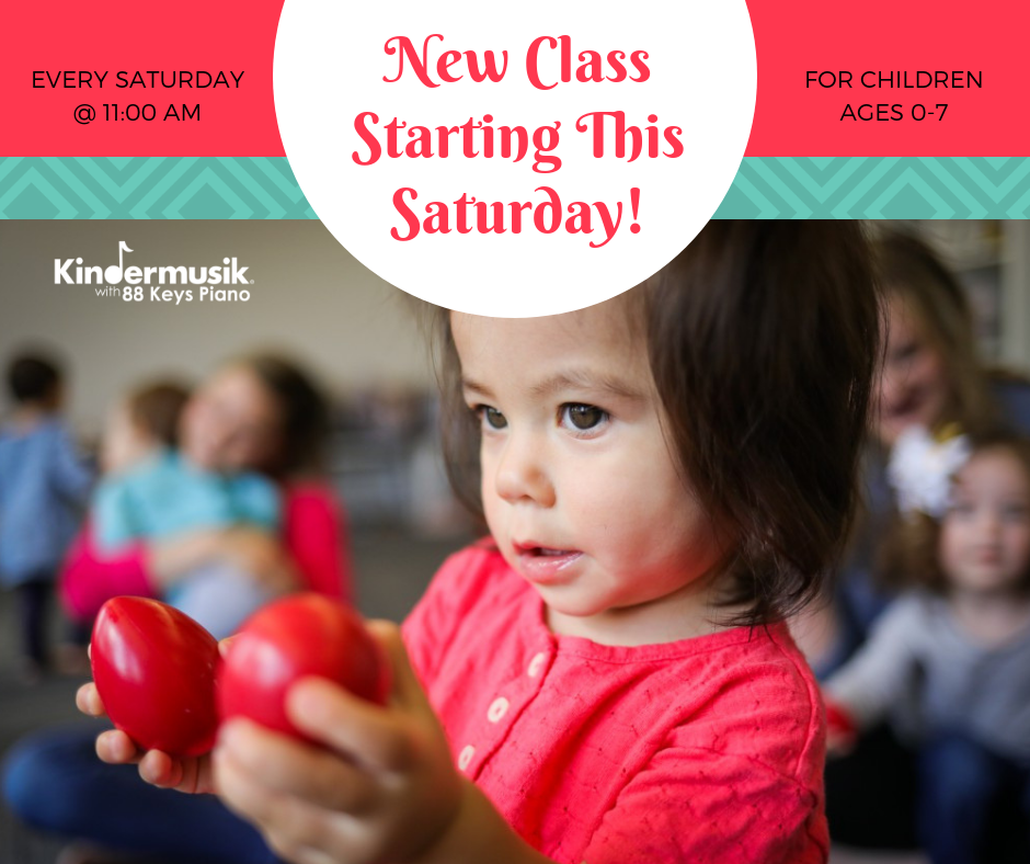 New Class Starting This Saturday!