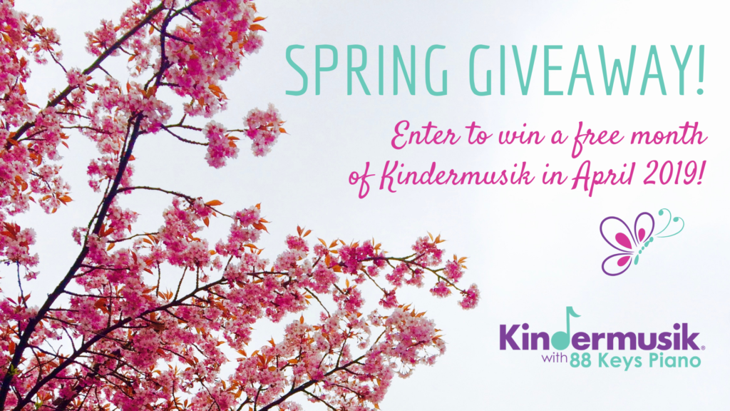 Spring Giveaway: Win a Free Month of Kindermusik in April!