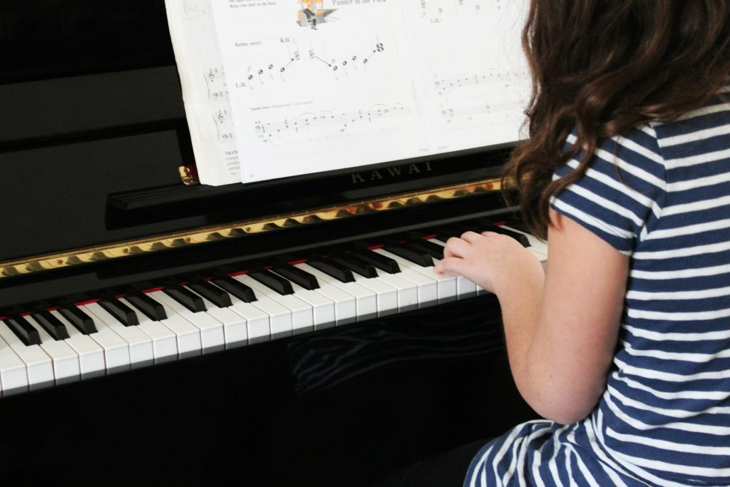 Now Offering Beginner Piano Lessons for Children Over 7!