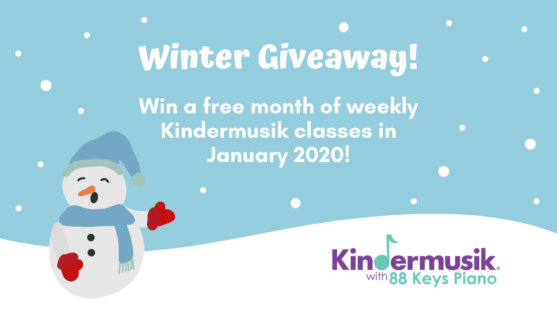 Winter Giveaway: Win a Free Month of Kindermusik in January