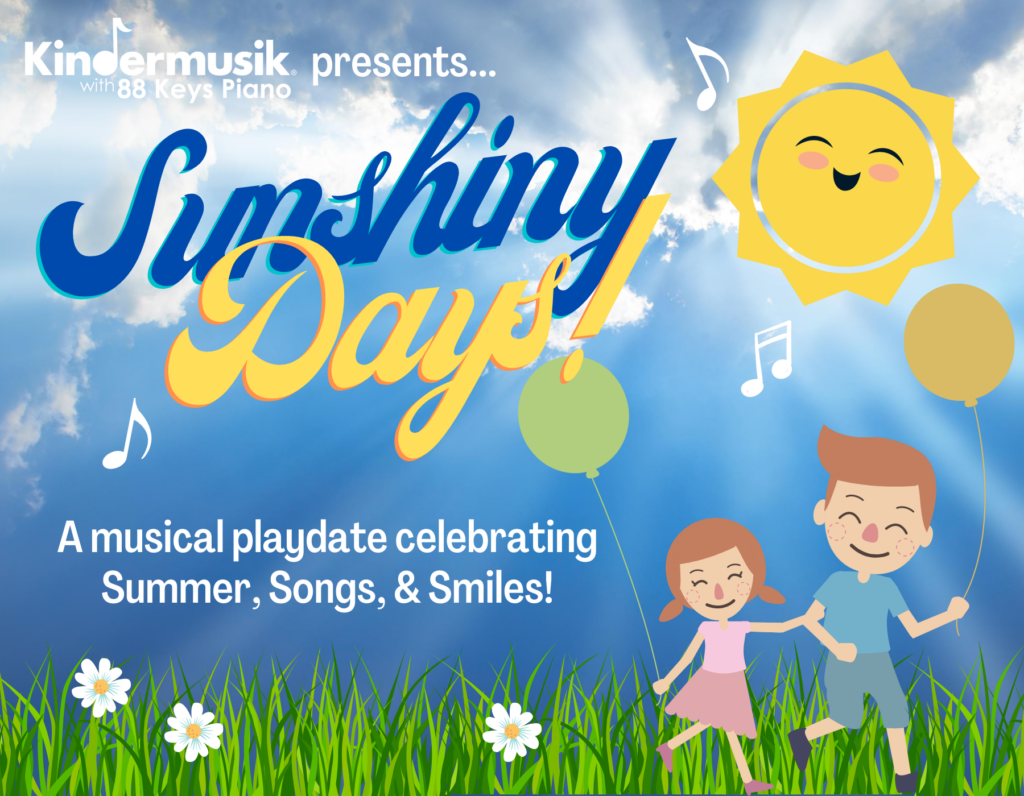 Announcing an August In-Studio Playdate: Sunshiny Days!