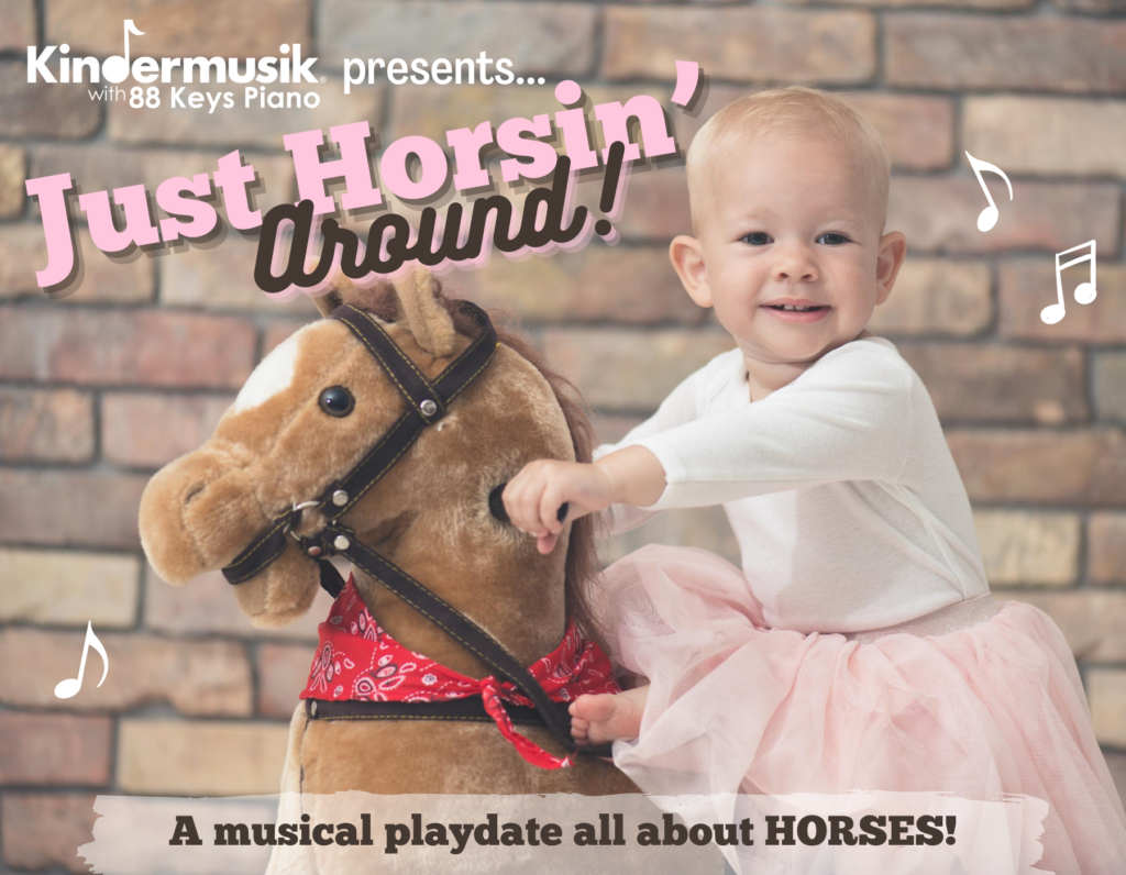 In-Studio September Playdate: Just Horsin' Around!