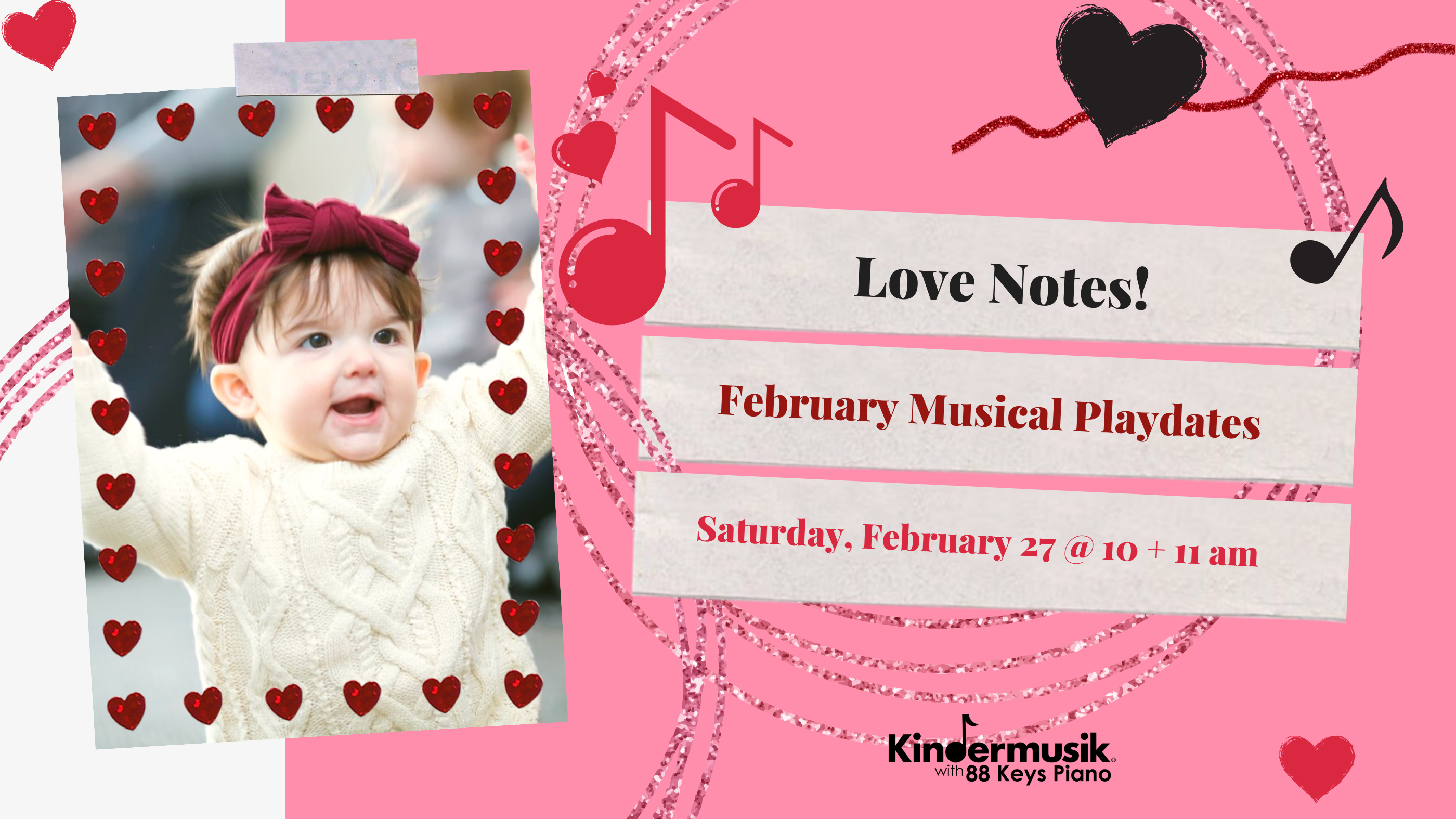 Love Notes Playdates Coming in February – Enroll Now!