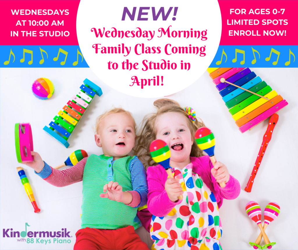 New Wednesday Family Class Coming April 2021!