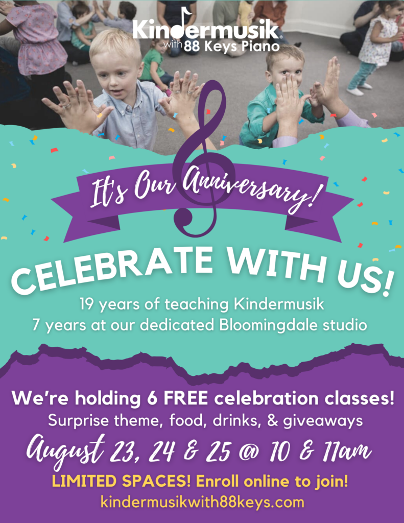 Celebrate Our Studio Anniversary With Us!